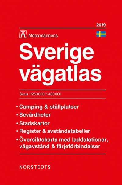 Vägatlas Sverige Motormännen