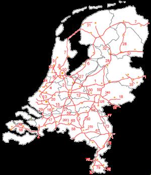 Motorvägar i Nederländerna