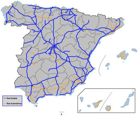 Motorvägar i Spanien