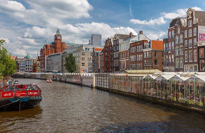 Bila till Amsterdam