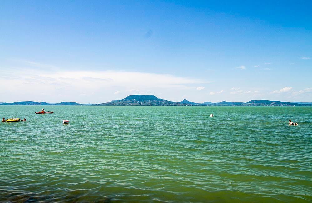 Balatonsjön i Ungern