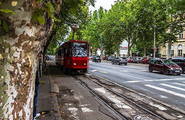 Spårvagn i Belgrad