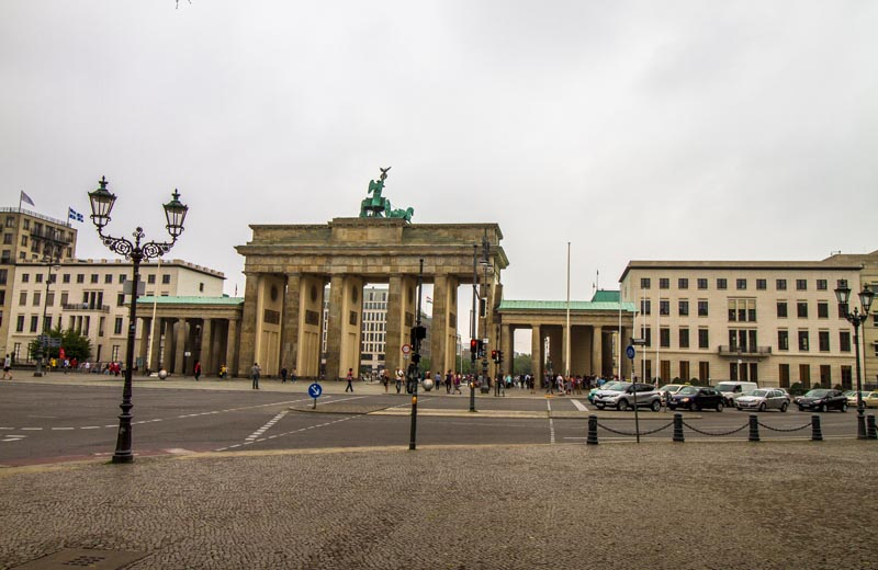 Pariser Platz Brandenburger Tor