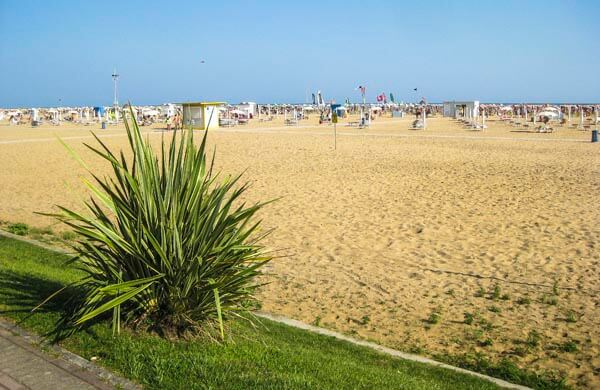 Stranden i Bibione