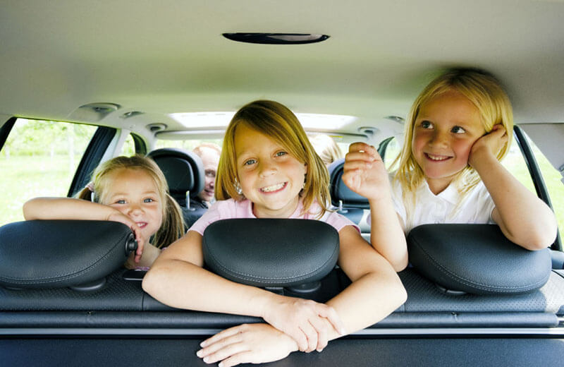Bilsemester med barn