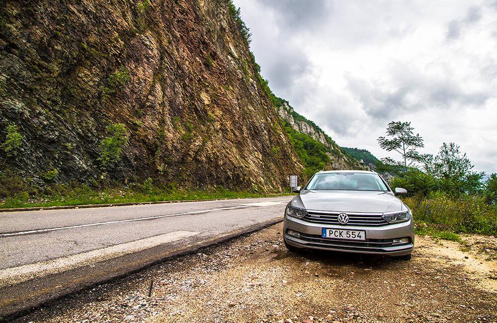 Bilsemester i Europa - Järnporten