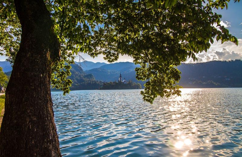 Utsikt över Bled