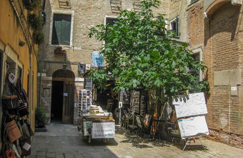 Bokhandeln i Venedig