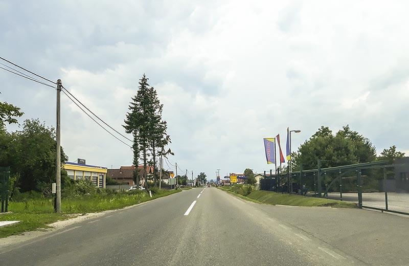 Landväg Bosnien