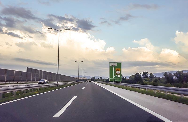 Motorvägen A1 Bosnien
