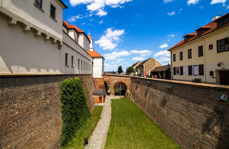 Hrad Špilberk i Brno