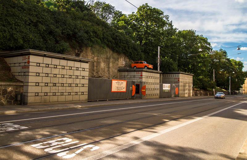 Tunnellabyrinten under Zelný-torget