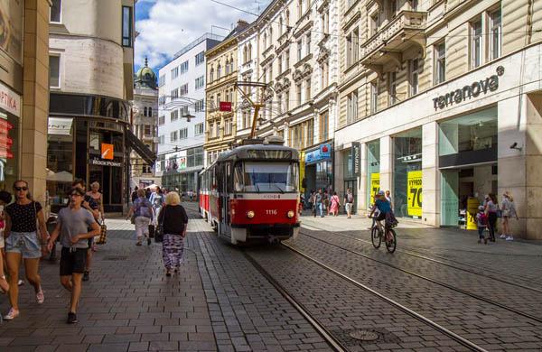 Spårvagn i Brno