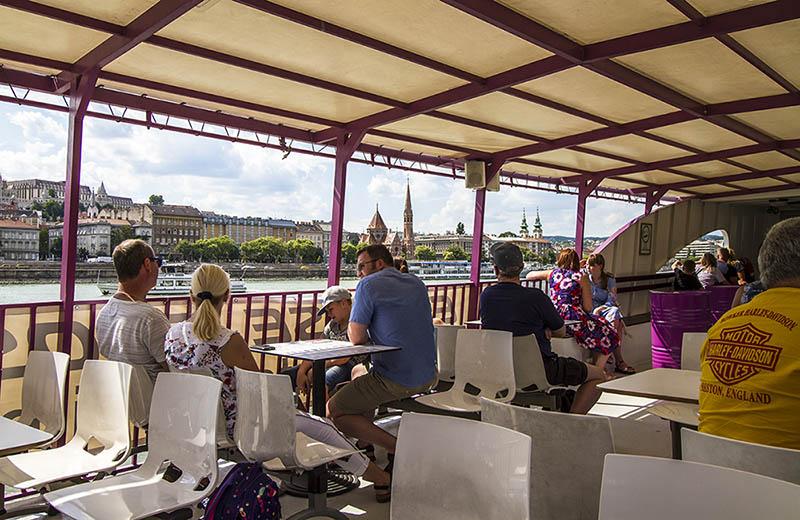 Flodbåt Budapest