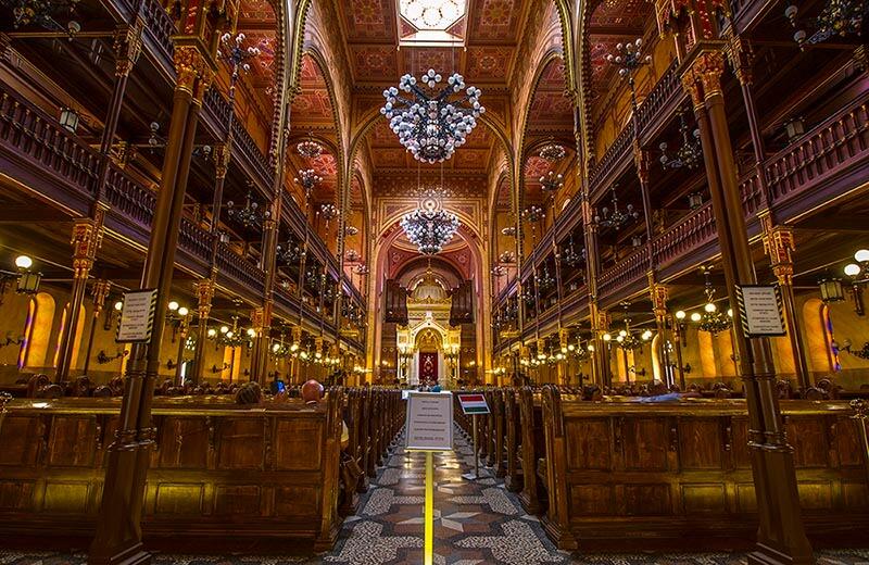 Stora synagogan i Budapest