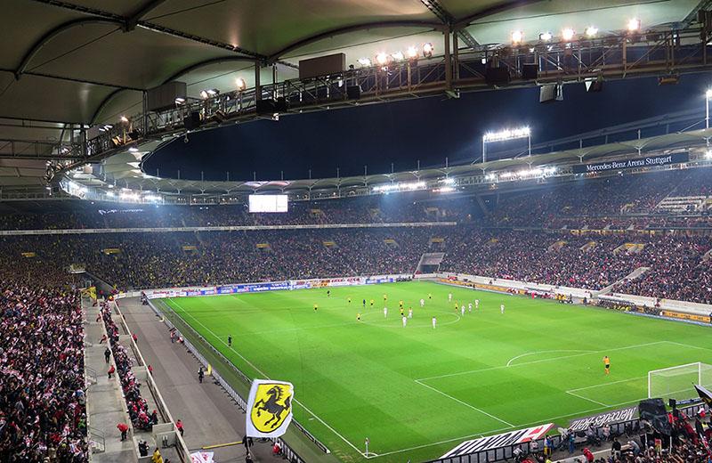 Mercdes Benz Arena Stuttgart