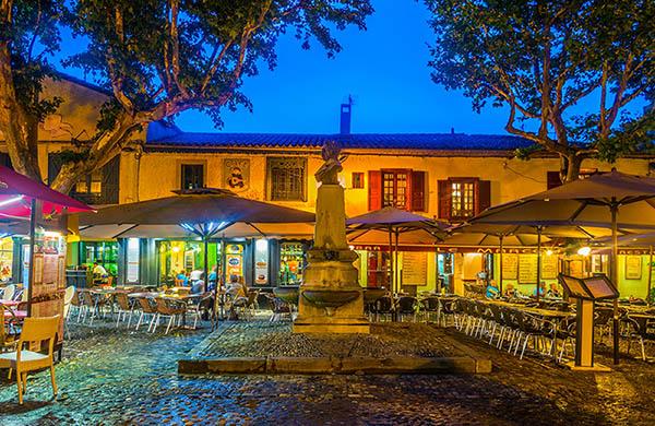Restauranger i Carcassonne