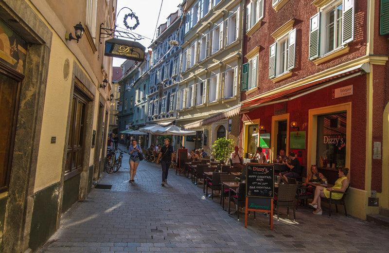 Restauranger i Graz