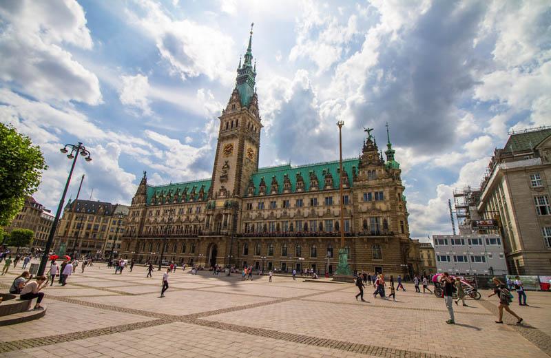 Rådhuset Hamburg