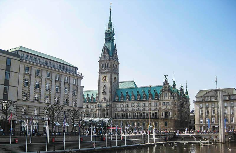 Rådhuset i Hamburg