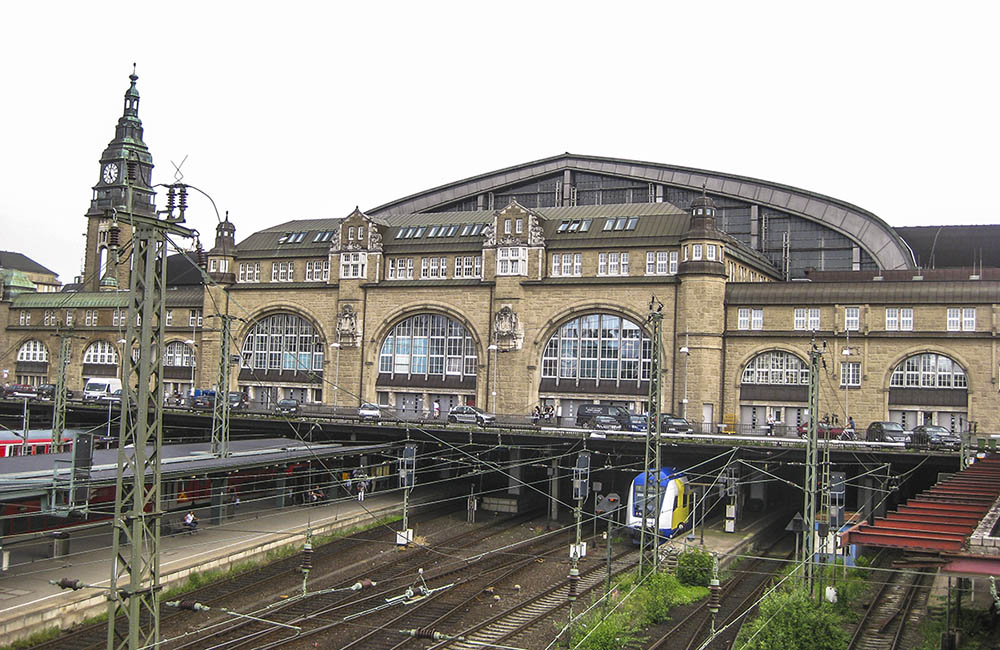 Hamburgs centralstation