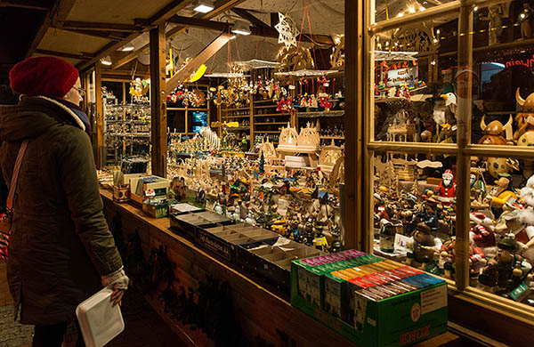 Julmarknad i Kiel