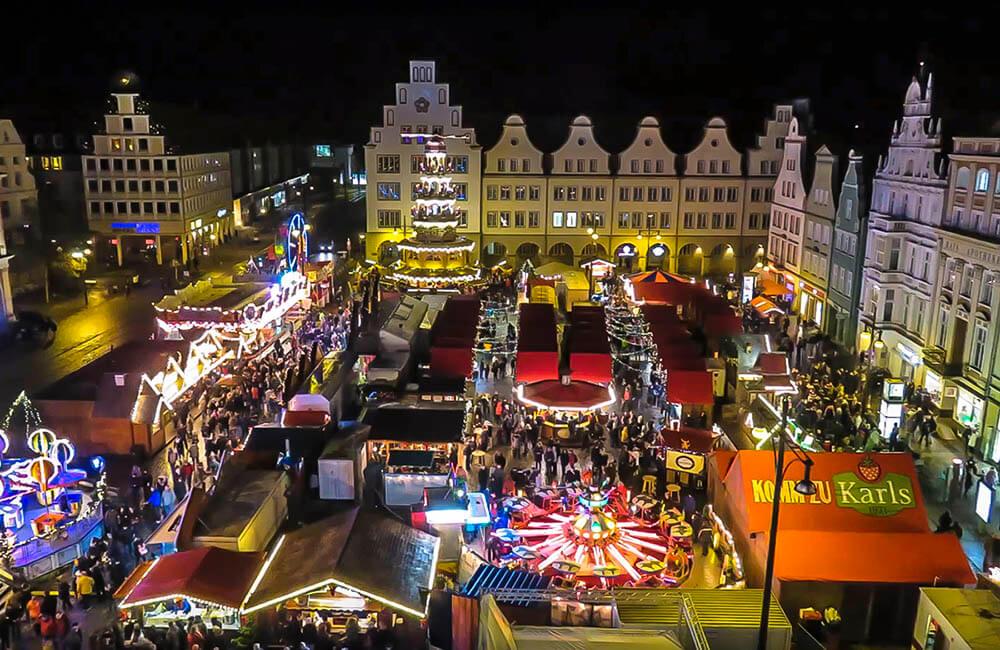 Julmarknad Wismar