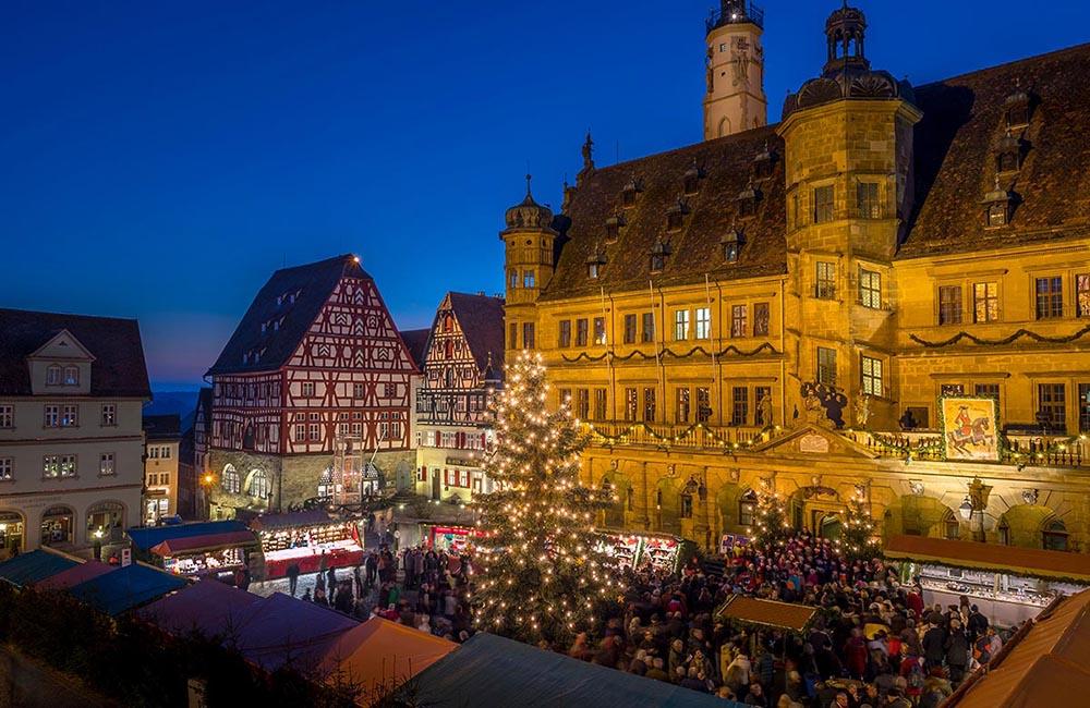 Julmarknad i Rothenburg
