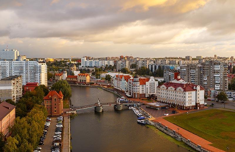 Bila till Kaliningrad