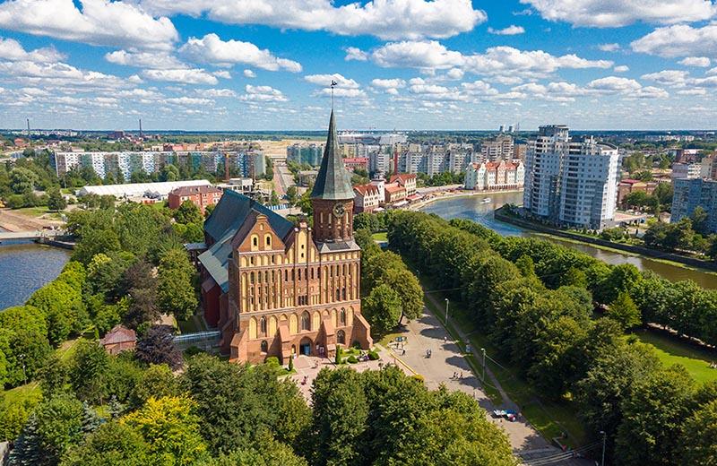 Königsbergs domkyrka i Kaliningrad