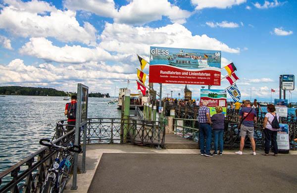 Båtturer på Bodensjön Konstanz