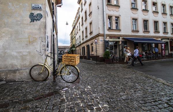 Kazimierz - judiska kvarteren i Krakow