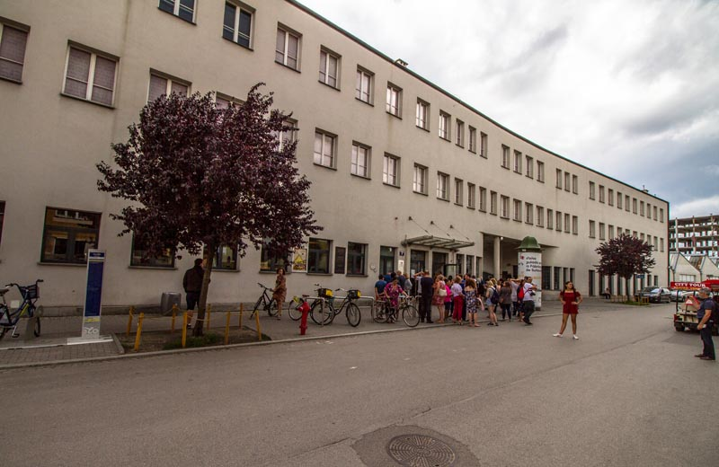 Oskar Schindlers fabrik Krakow