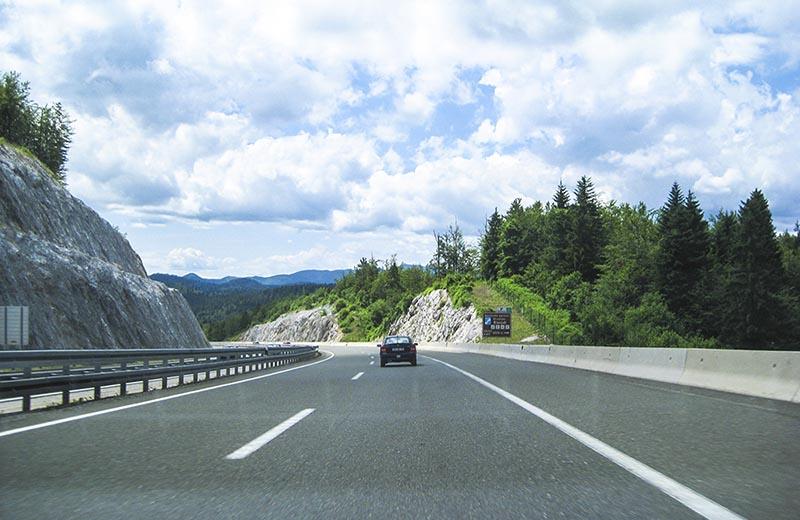 Motorväg Kroatien