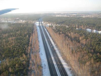 Väg A10 till Jurmala