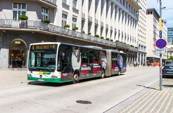 Kollektivtrafik i Ljubljana