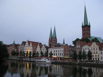 Övernatta i Lübeck