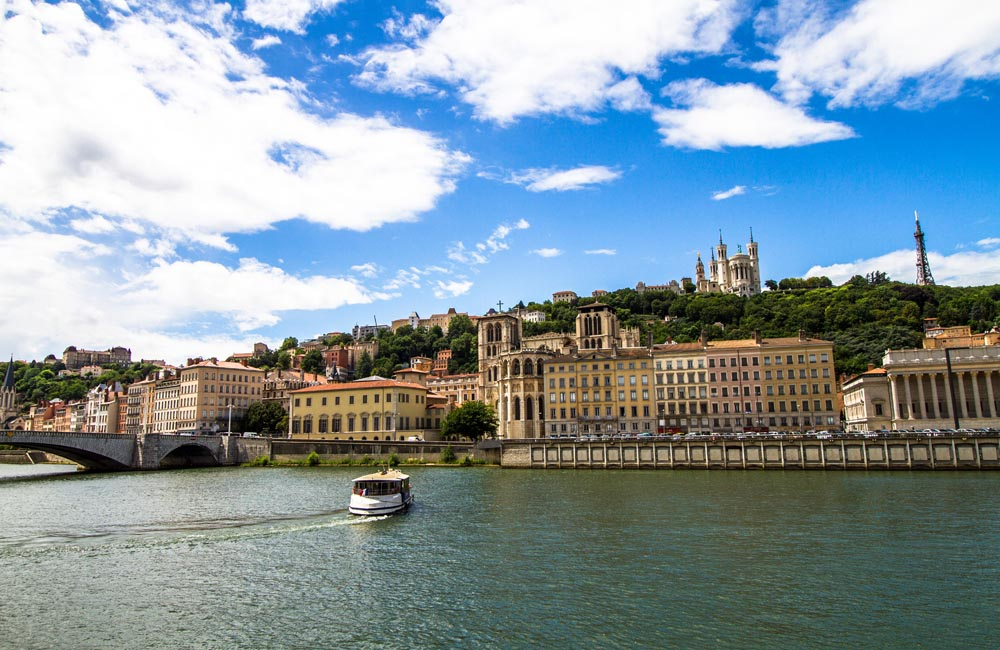 Saône i Lyon