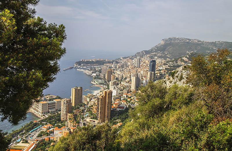 Vi över Monaco