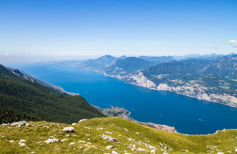 Utsikt från Monte Baldo