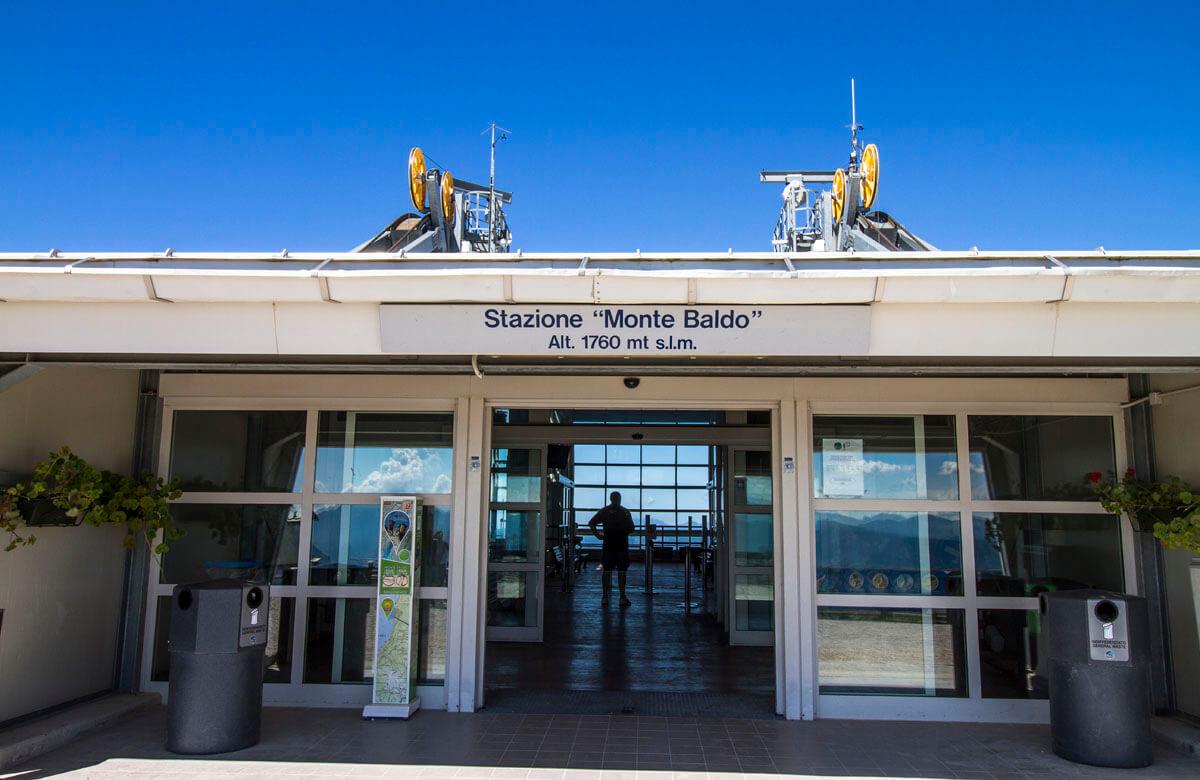 Monte Baldo linbanestation