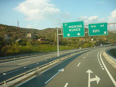 Motorväg i Albanien