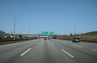 Motorväg genom Köpenhamn