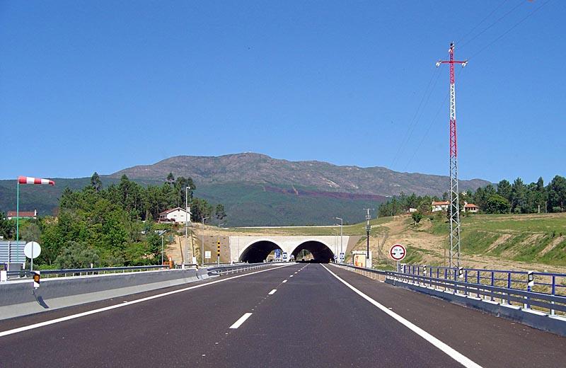 Motorväg i Portugal - A27 Viana do Castelo-Ponte de Lima