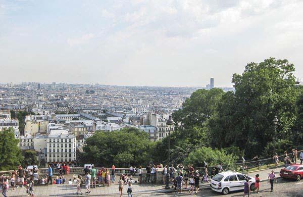 Utsikt från Montmartre