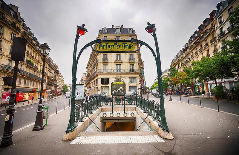 Kollektivtrafik i Paris
