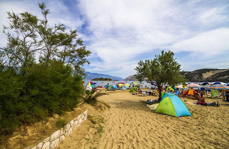 Stranden vid Lopar