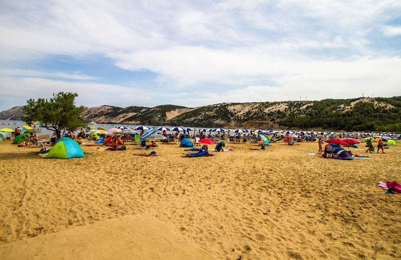 Stranden i Lopar
