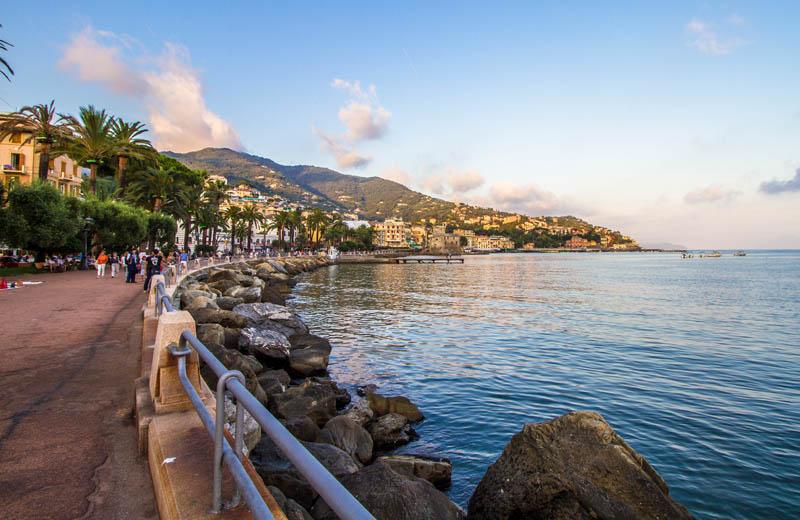 Strandpromenaden Rapallo