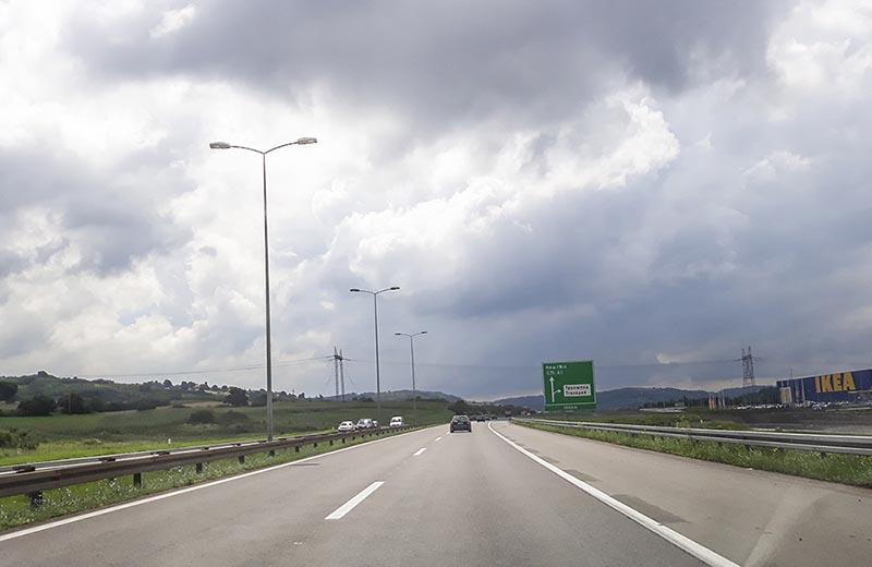 Motorväg A1 Serbien